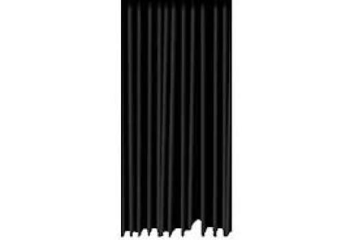 Pendrillon rideau de scene noir amplitude - Location de rideaux de scene ...